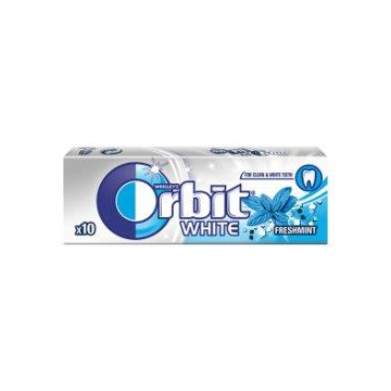 ORBIT WHITE FR.MINT DRAZ.10SZT