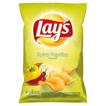 LAY'S CORE SPICY PAPRIKA D 140