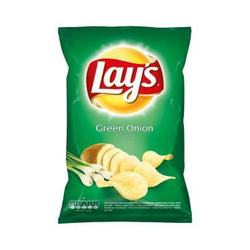 LAY'S CORE GREEN ONION D 140G