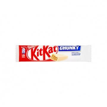 BATON KIT KAT CHUNKY WHITE 40G