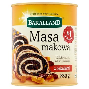 MASA MAKOWA BAKALIOWA 850G