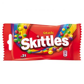 SKITTLES FRUIT SASZETKA 38G