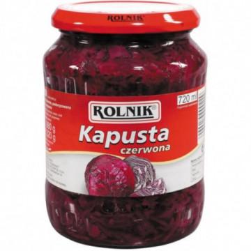 KAPUSTA CZERWONA 720ML