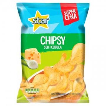 STAR CHIPS SER I CEBULA 130G