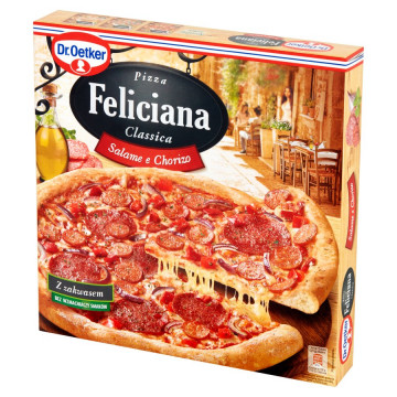 PIZZA FELICIANA SALAME 320G