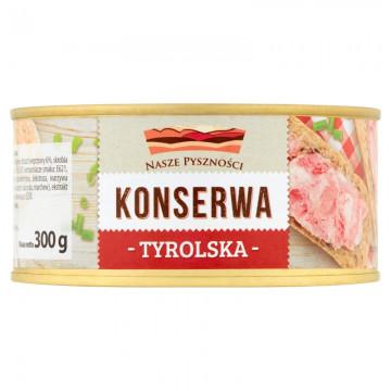 KONSERWA TYROLSKA 300G