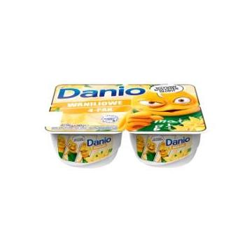 SEREK DANIO 4X140G WANILIA