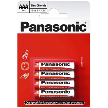 BATERIA PANASONIC R03/4 AAA