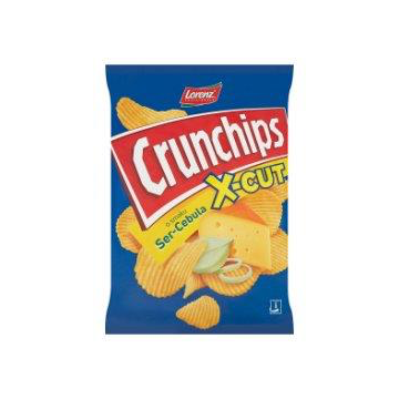 CRUNCHIPS X-CUT SER/CEBUL.140G