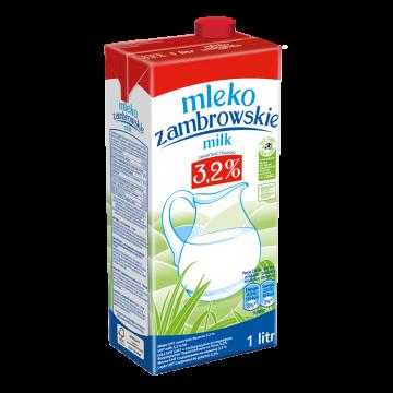 MLEKO ZAMBROWSKIE 3,2% 1L UHT