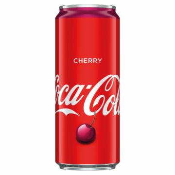 COCA COLA CHERRY 0,33L PUSZKA