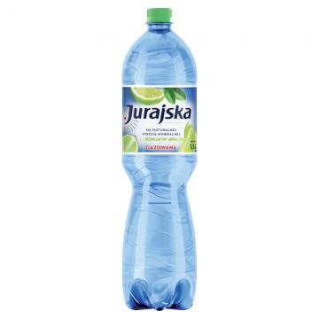 WODA O SMAKU LIMONKI GAZ 1,5L