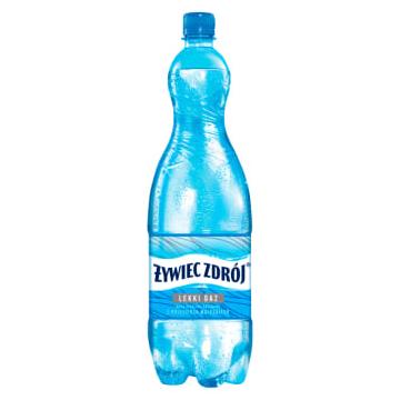 WODA ZRODLANA LEK-GAZ 1,5L PET
