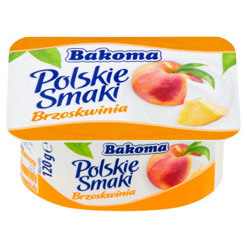 POLSKIE SMAKI 120G BRZOSKWINIA