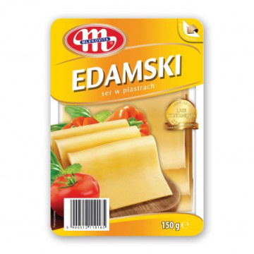 SER EDAMSKI PLASTRY 150 G