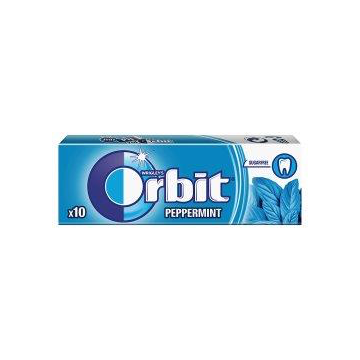 ORBIT PEPPERMINT DRAZETKI 10SZ