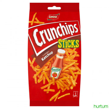 CRUNCHIPS STICKS KETCHUP 70G